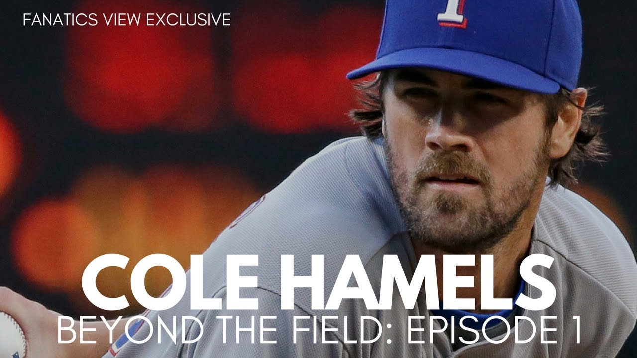 Cole Hamels talks Giancarlo Stanton, World Series & Youth Baseball (Beyond The Field - EP1)