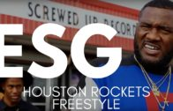 ESG Spits a Crazy Freestyle for Houston Rockets Fans
