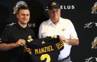 Johnny Manziel Signs with Hamilton Tiger-Cats