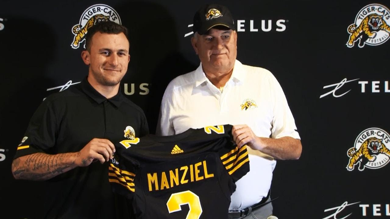 Johnny Manziel Signs with Hamilton Tiger-Cats