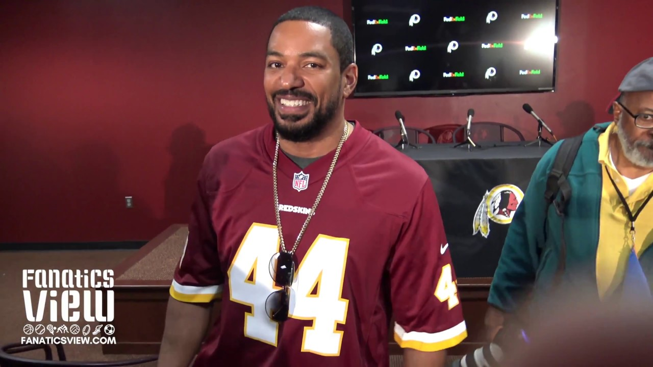 Laz Alonso speaks on the Washington Redskins 2018 NFL Draft