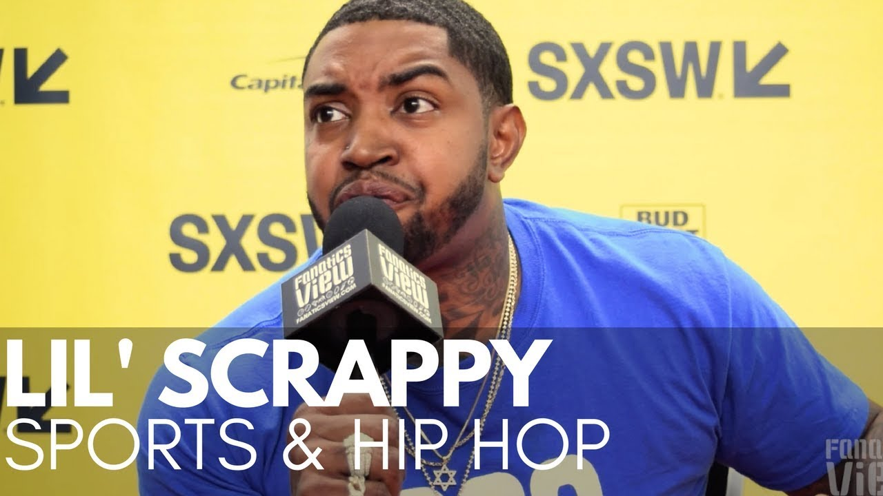 Lil Scrappy tells Story of LeBron James talking Smack to Him at Hawks games