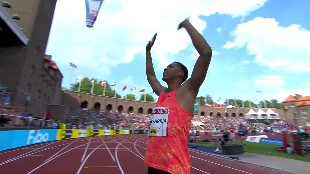 19-year-old Long Jumper Makes Historic Jump