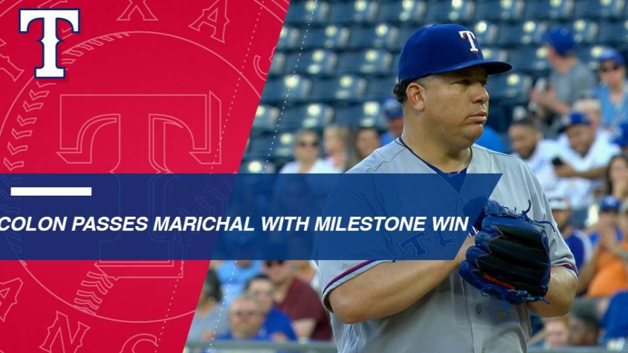 Bartolo Colon Makes History With 244th Career Win