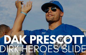 Dak Prescott Makes a Smart Play at Base Paths