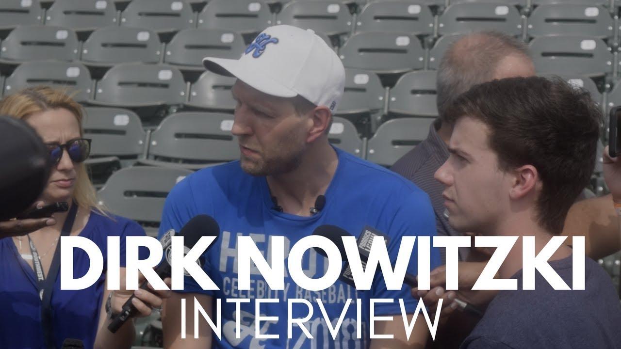 Dirk Notwitzki Mocks Harrison Barnes Athletic Ability