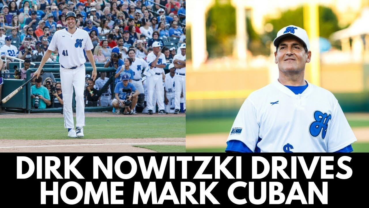 Dirk Nowitzki Hit Scores Mark Cuban at Dirk's Heroes
