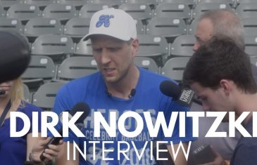 Dirk Nowitzki speaks on his World Cup Family Rivalry