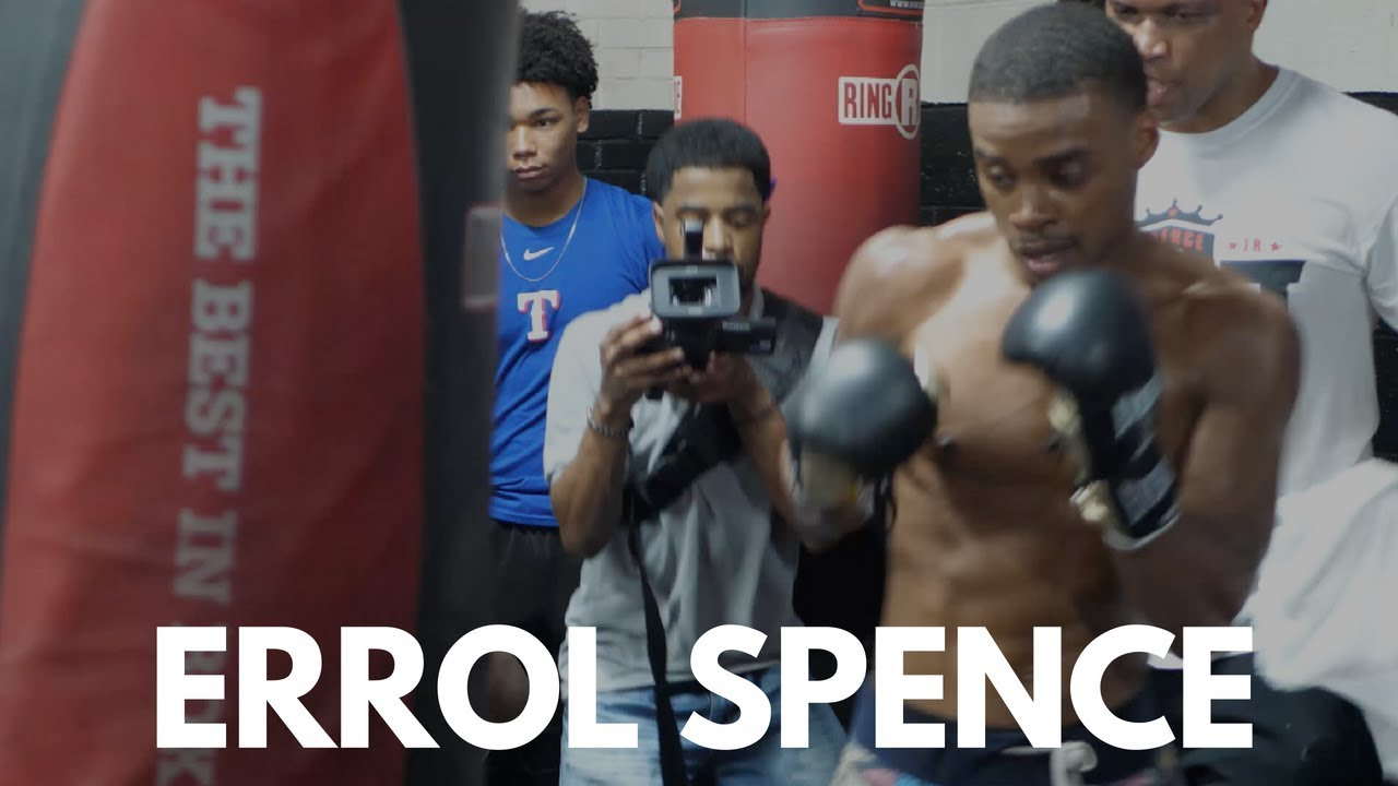 Errol Spence Jr. gets in Bag Training ahead of Ocampo Fight