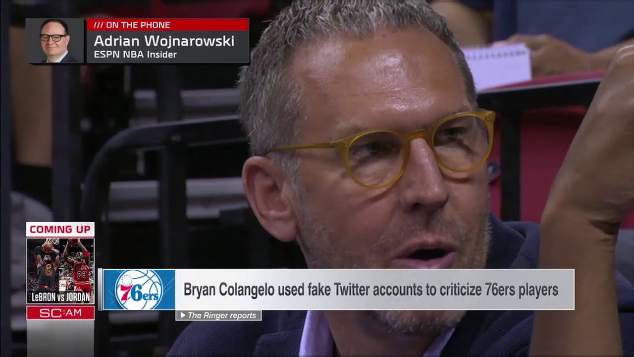 ESPN Shows React to Byran Colangelo's Burner Accounts