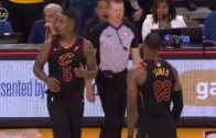 J.R. Smith Dribbles Out Shot Clock in Game 1 of NBA Finals