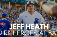 Jeff Heath Smacks a Triple at Dirk's Heroes