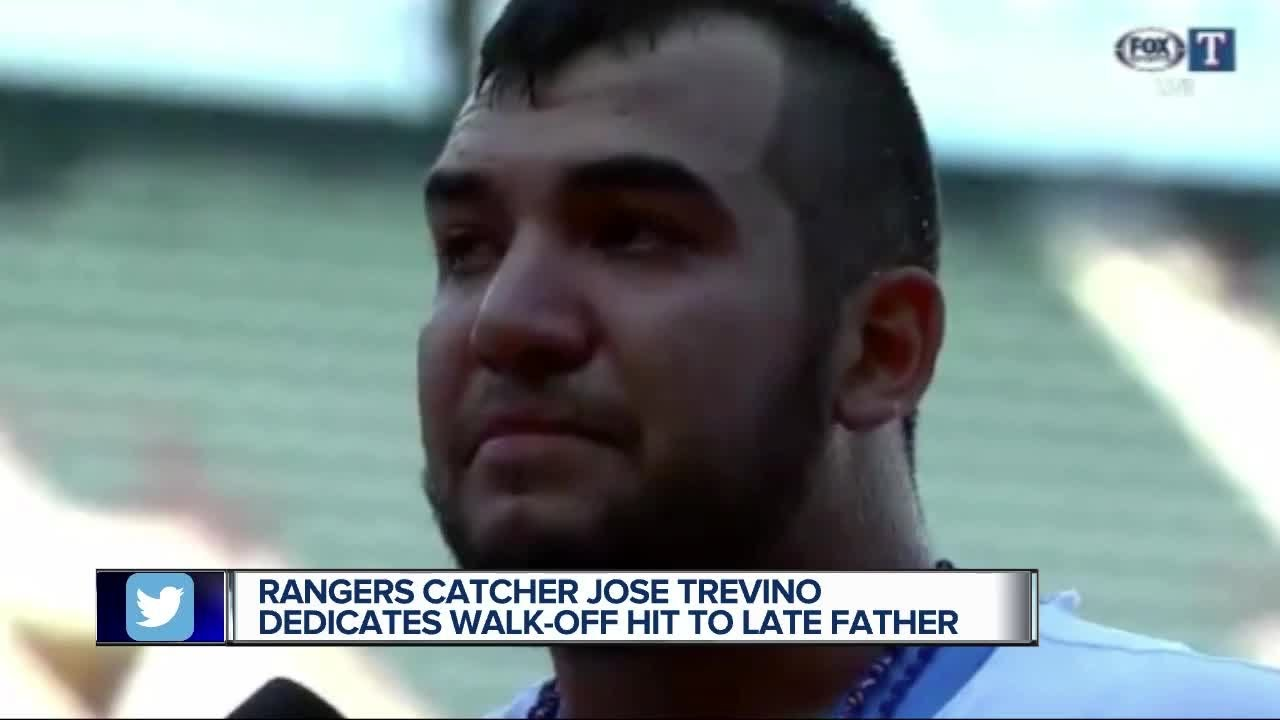 Jose Trevino's Memorable Fathers Day Walk-Off