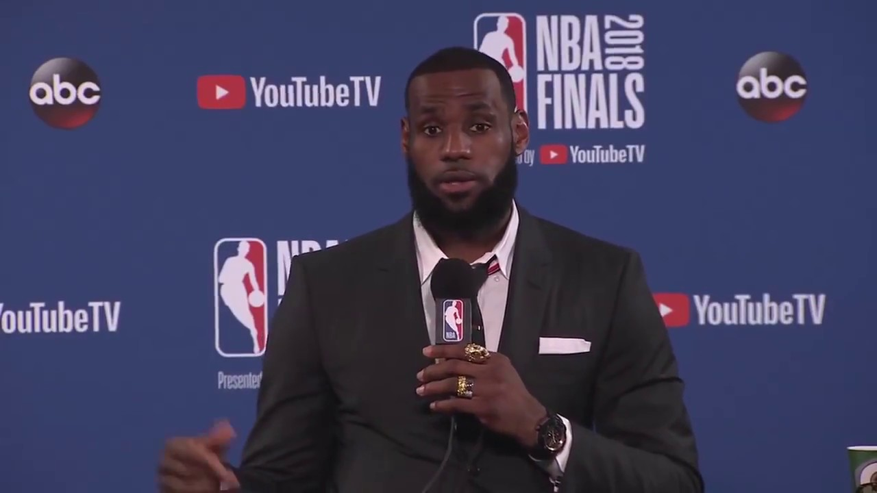 LeBron James Abruptly Leaves NBA Finals Game 1 Press Conference
