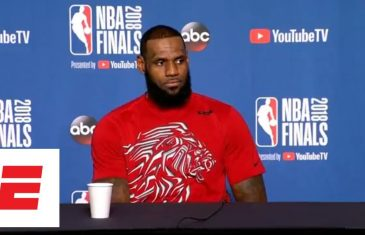 LeBron James responds to President Trump uninviting Eagles to White House