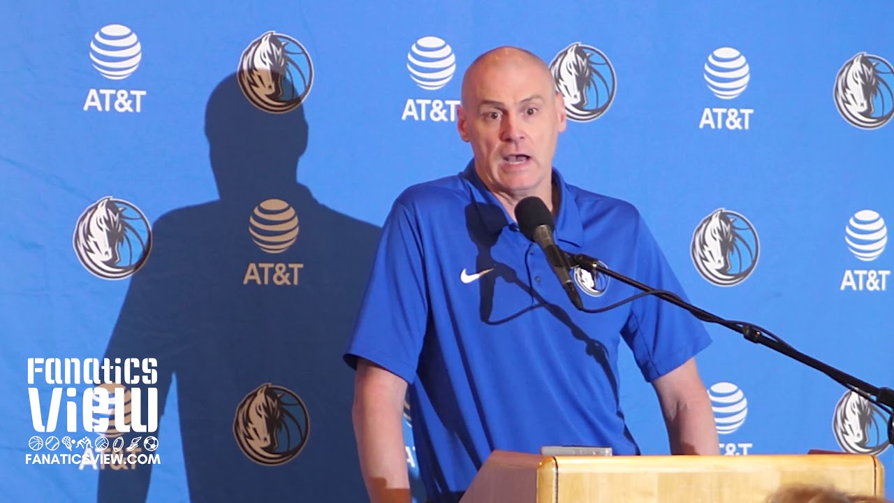 Rick Carlisle on Mavericks First Round Pick