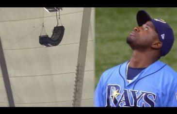 Speaker Blocks Game Winning Home Run from Yankees