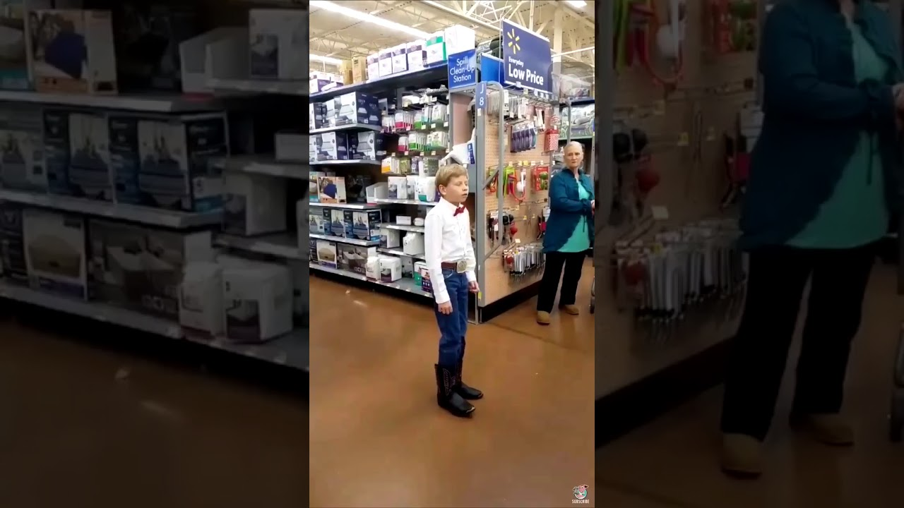 The Yodeling Kid surprises young hoopers