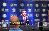 CJ Conrad at SEC Media Days