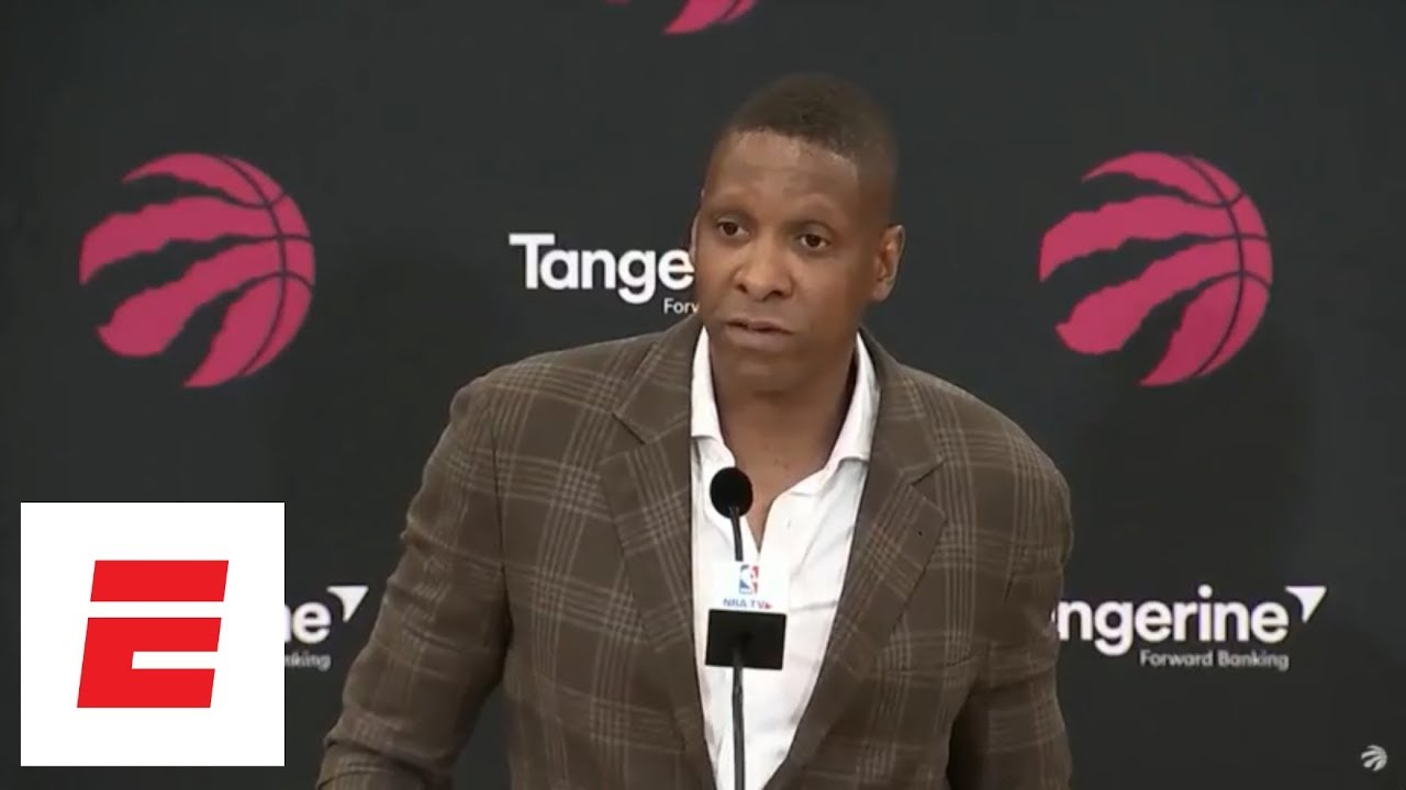 [Full interview] Raptors GM apologizes to DeRozan