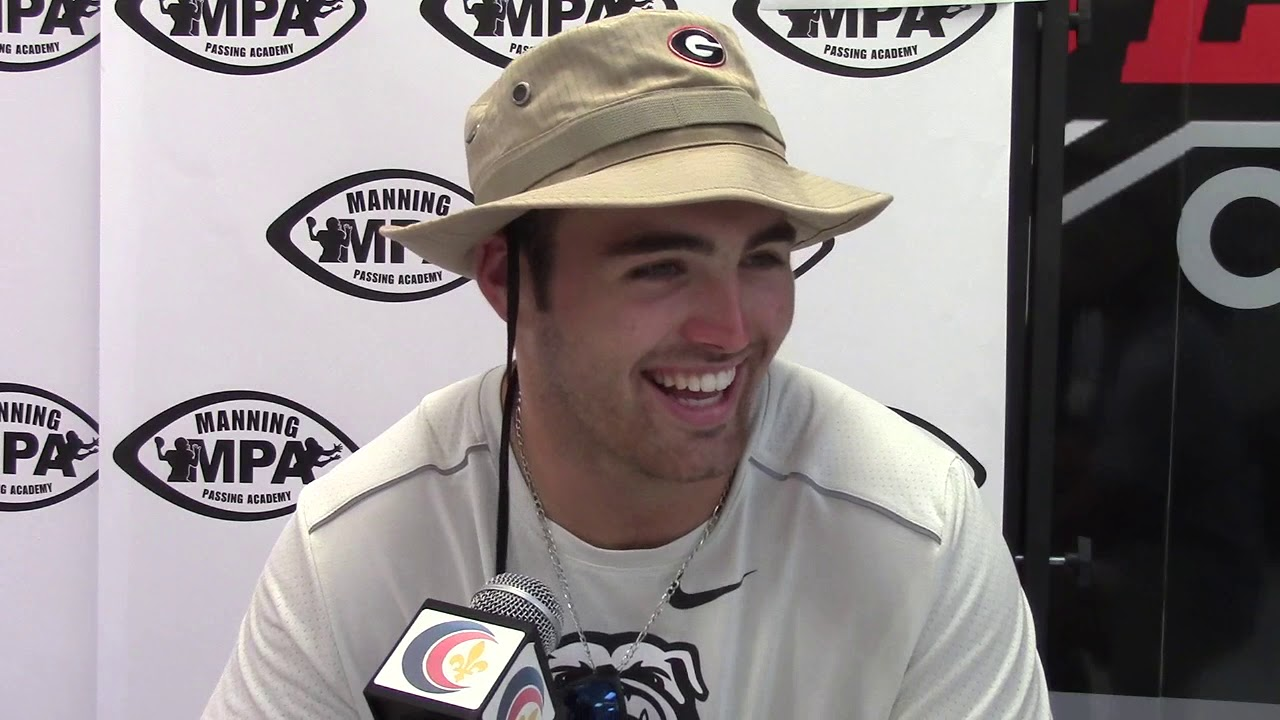 Jake Fromm at Manning Passing Academy