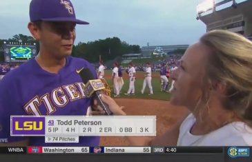 LSU Pitcher Todd Peterson's Clutch At-Bat