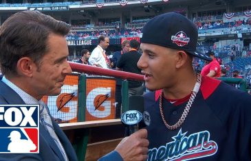 Manny Machado Talks about his Trade to Dodgers at All-Star Game