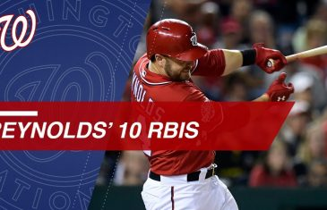 Mark Reynolds has Historic Night at the Plate Driving in 10 in Win