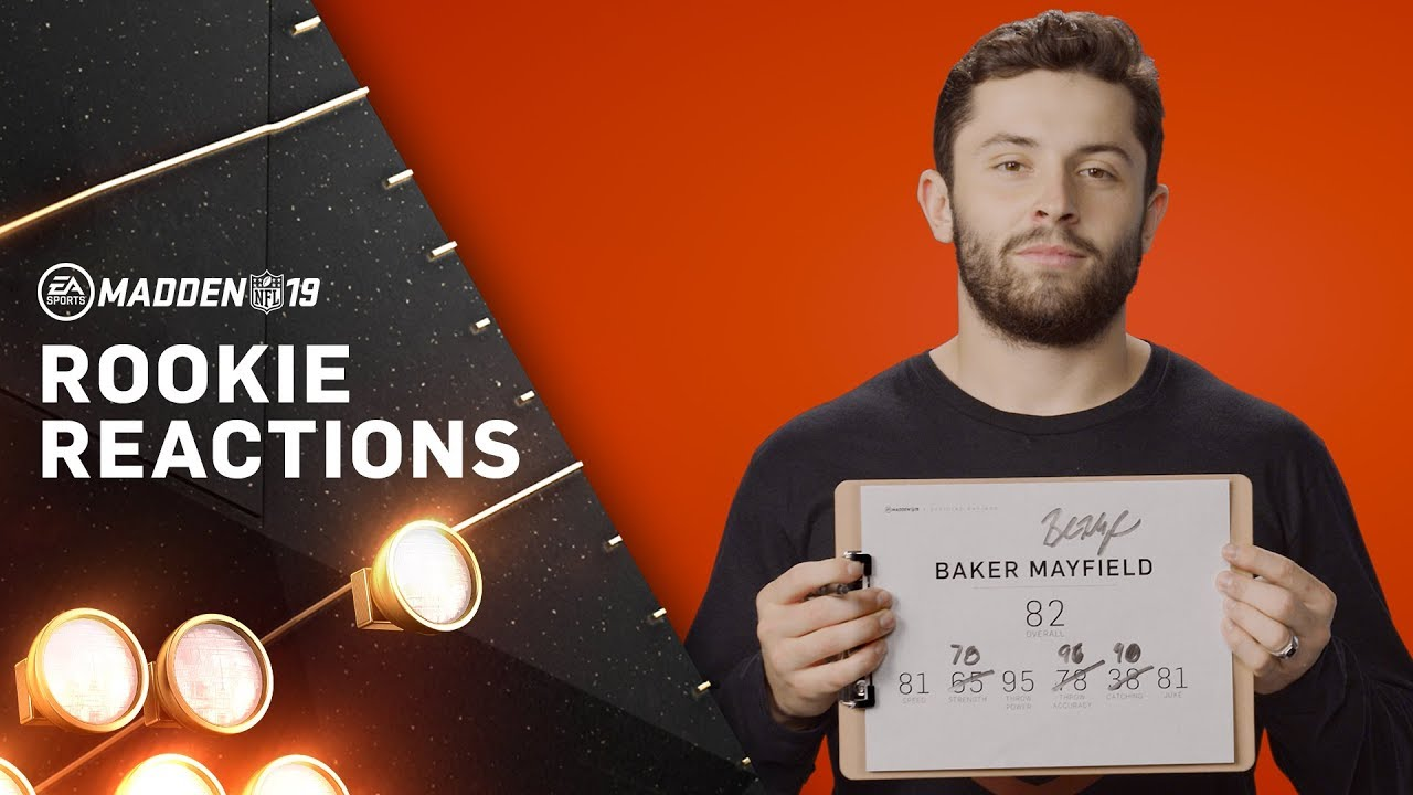 NFL Rookies Guess Their Madden Rating