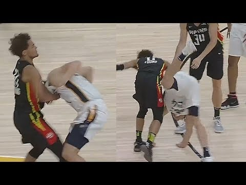 Rookies Grayson Allen and Trae Young Get Into a Scuffle
