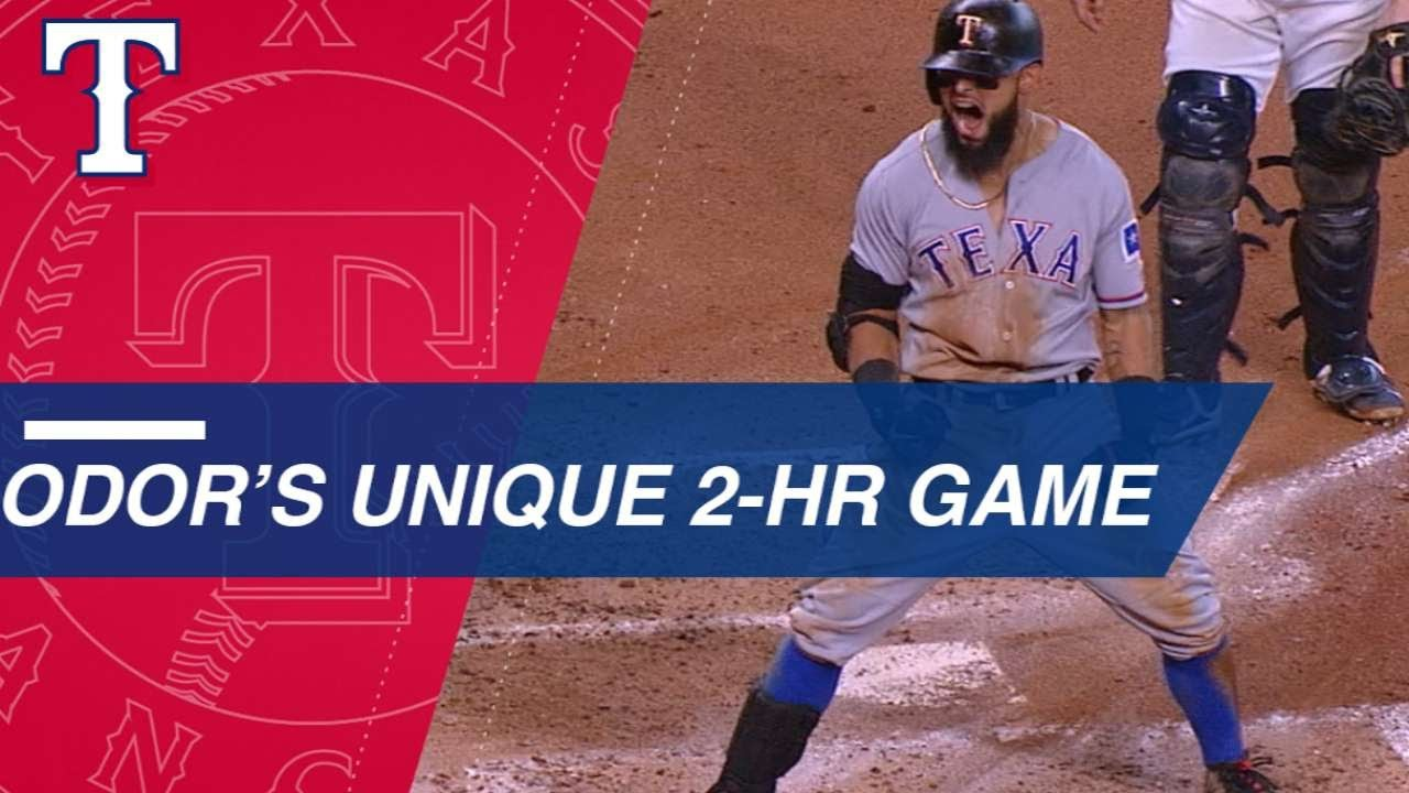 Rougned Odor Powers Rangers Over Astros in a Unique Two-Home run Game
