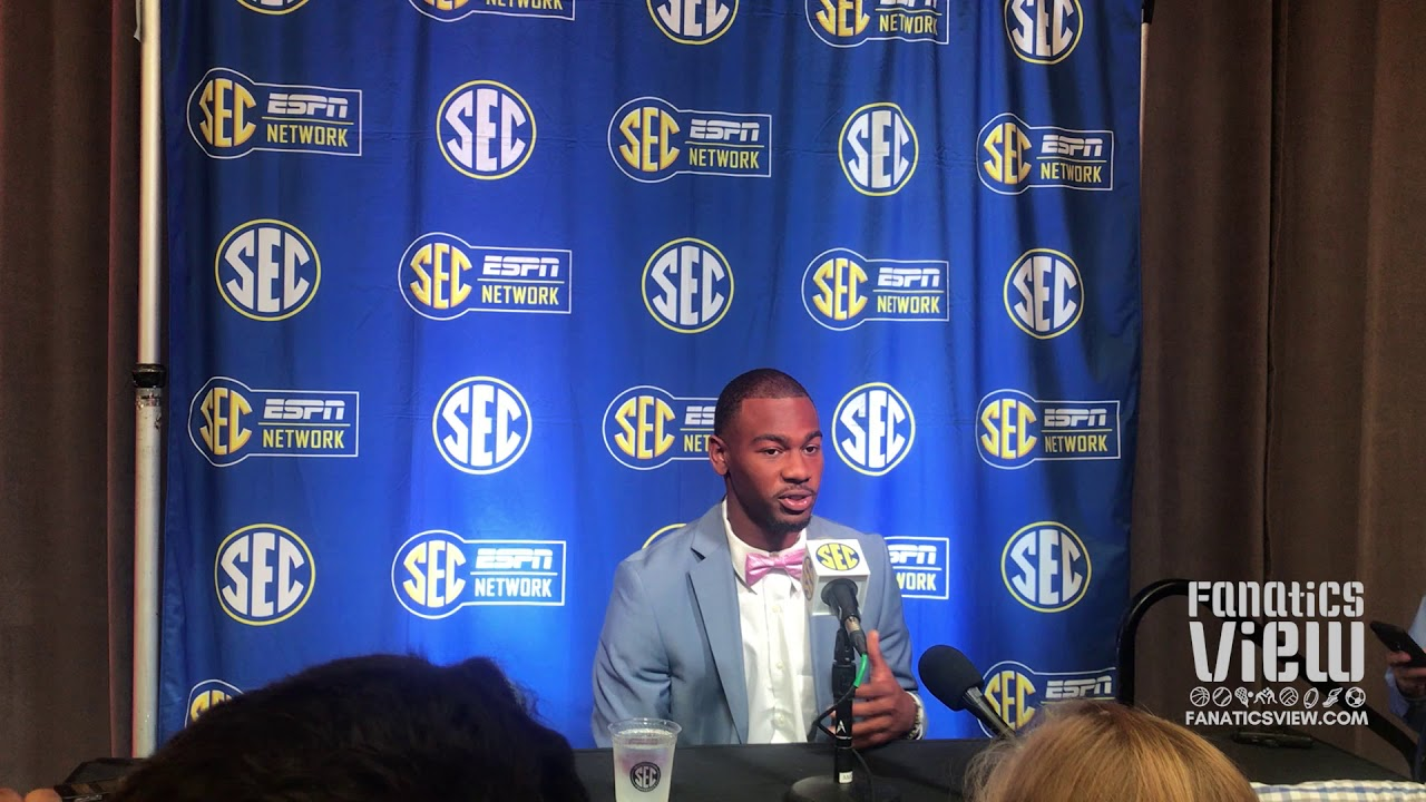 Terry Goodwin at SEC Media Days