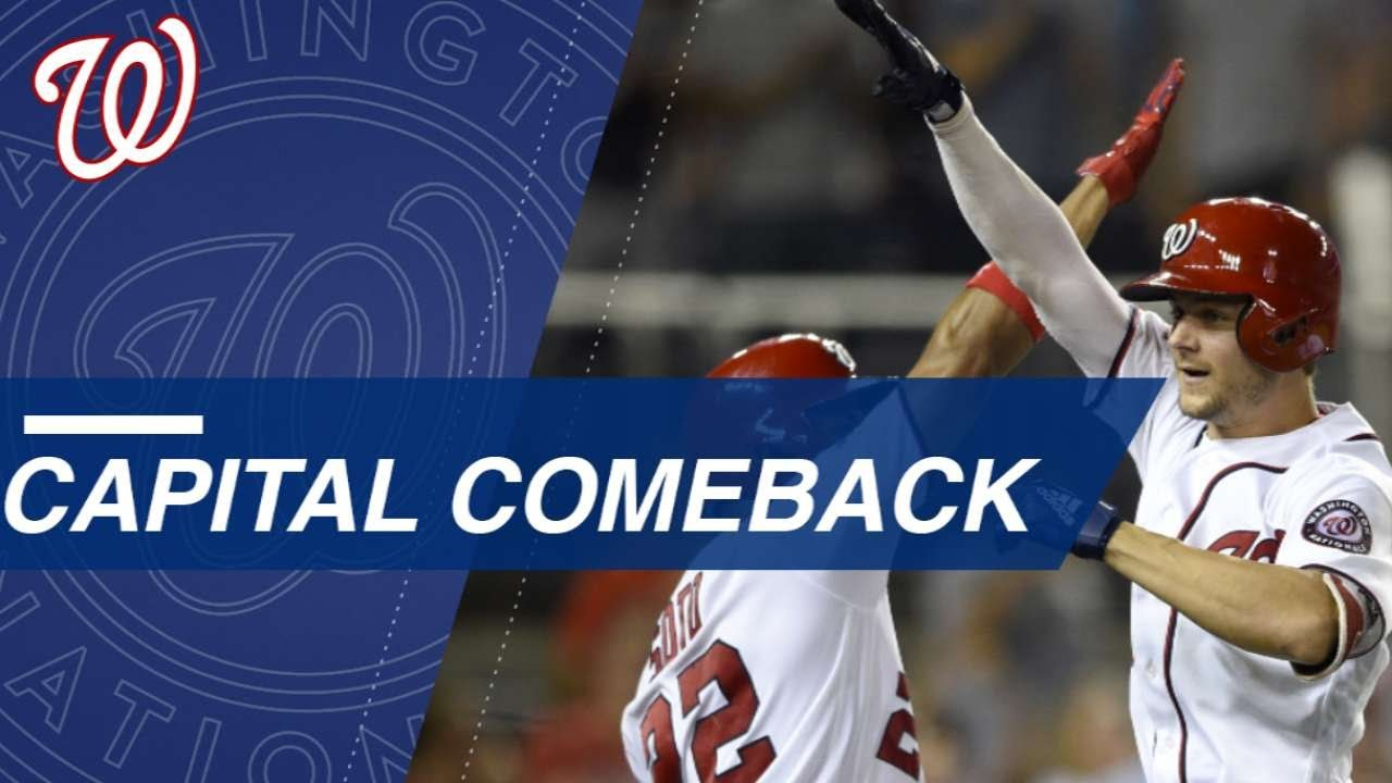 Washington Nationals have Largest Comeback in Team History