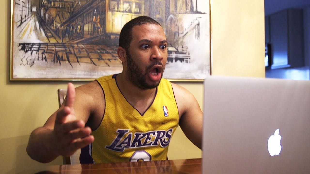 YouTube Star Imitates NBA Fans During Free Agency
