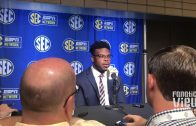 Drew Lock at SEC Media Days