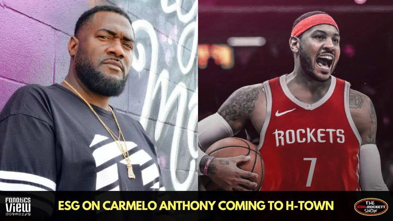 ESG breaks down Carmelo Anthony Joining the Houston Rockets