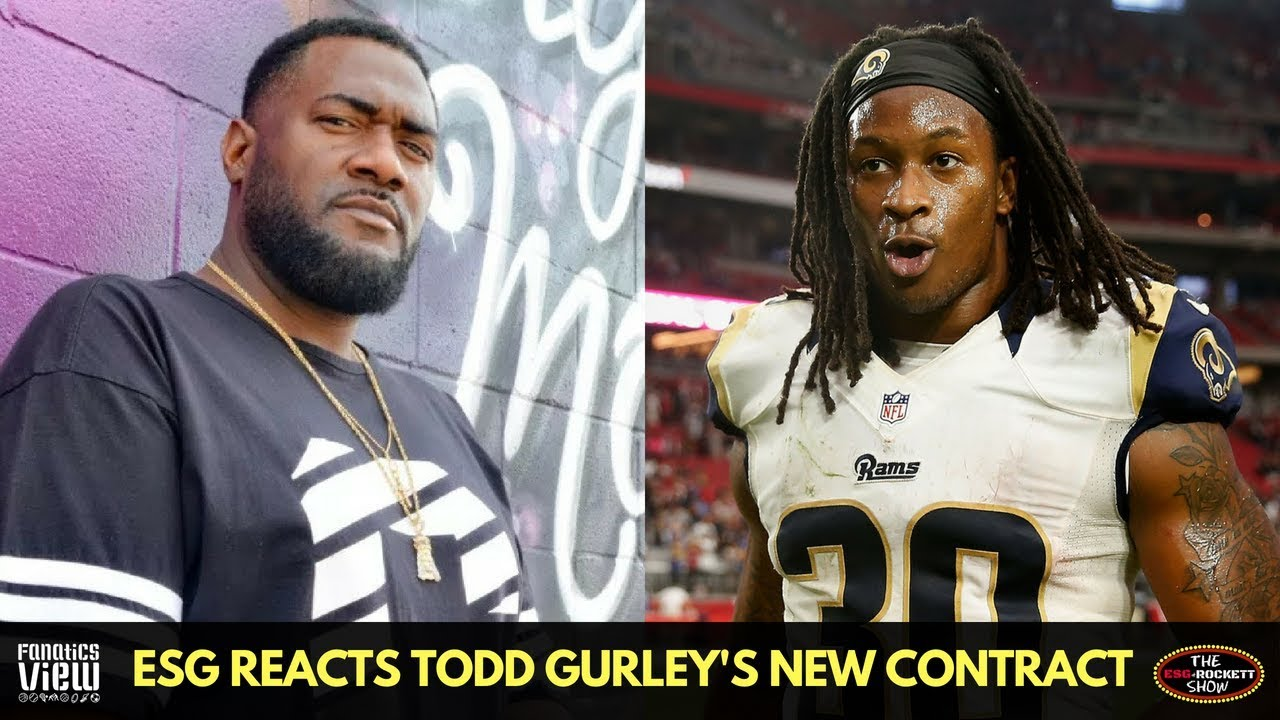 ESG speaks on Todd Gurley's Record Running Back Contract