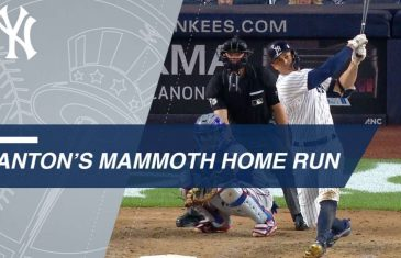Giancarlo Stanton Obliterates Baseball for Record Setting Homer