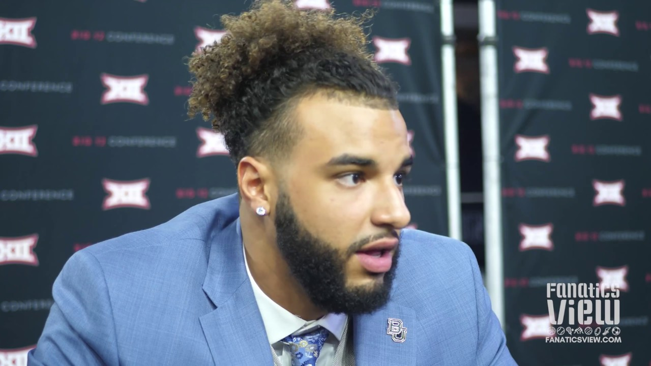 Greg Roberts Praises Teammates Leadership at Big 12 Media Day