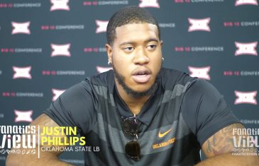 Justin Phillips Speaks on Oklahoma State Being Underrated Nationally