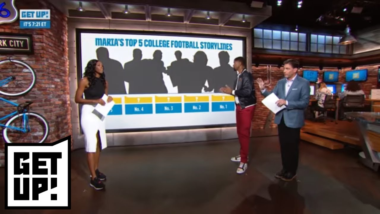 Maria Taylor's Top 5 College Football Storylines