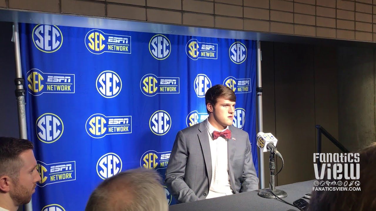 Nick Fitzgerald at SEC Media Days