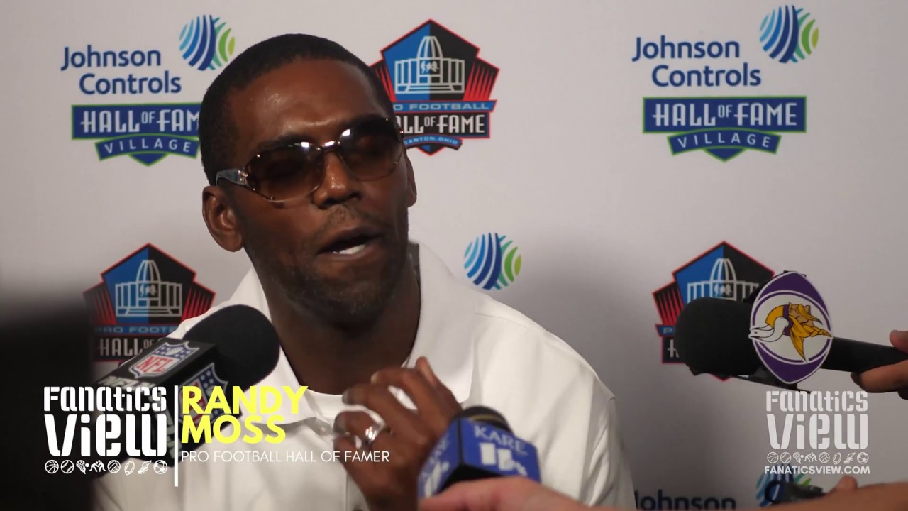 Randy Moss Speaks on Unfair Media Treatment at Hall of Fame