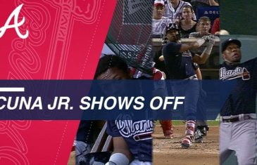 Ronald Acuna Jr. Giveth & Taketh Away Home Runs in the Same Inning