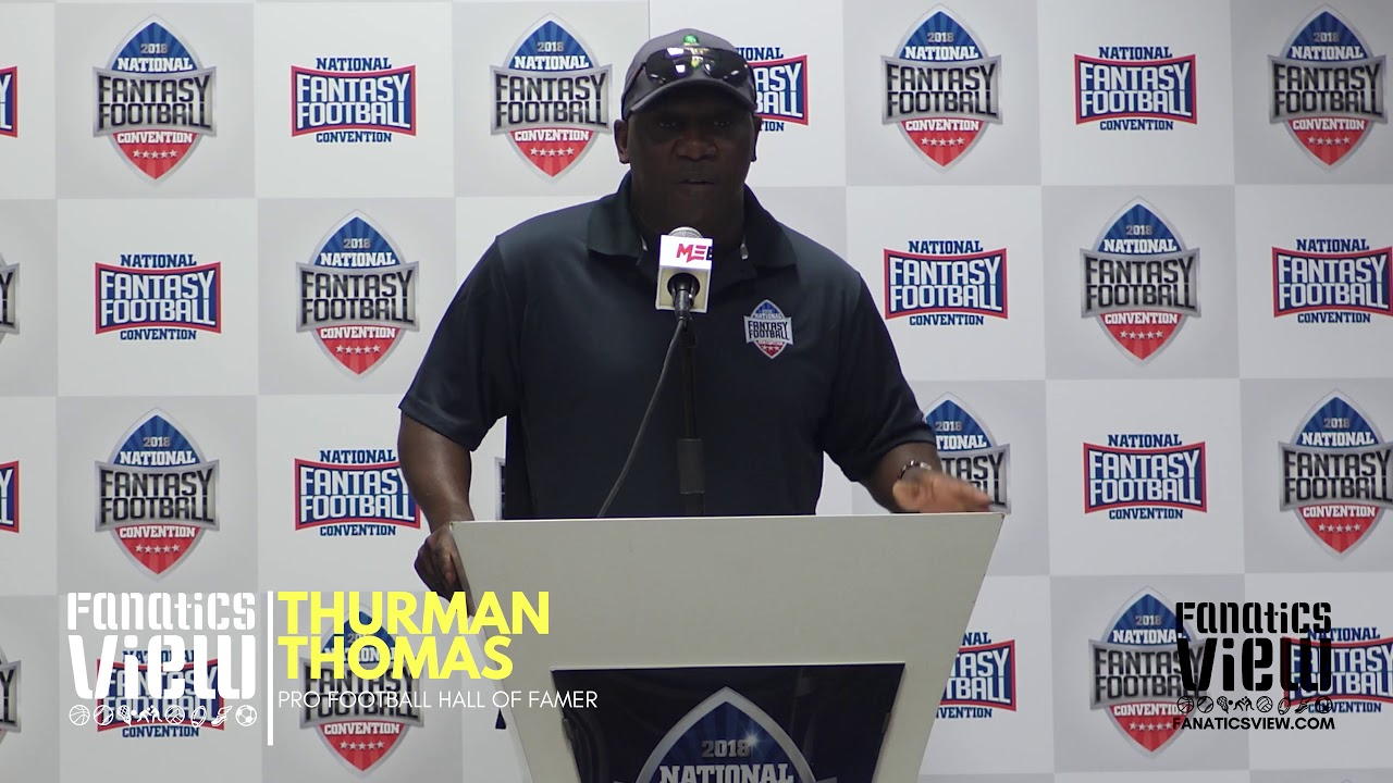 Thurman Thomas speaks on Terrell Owens' Decision to Skip the Hall of Fame