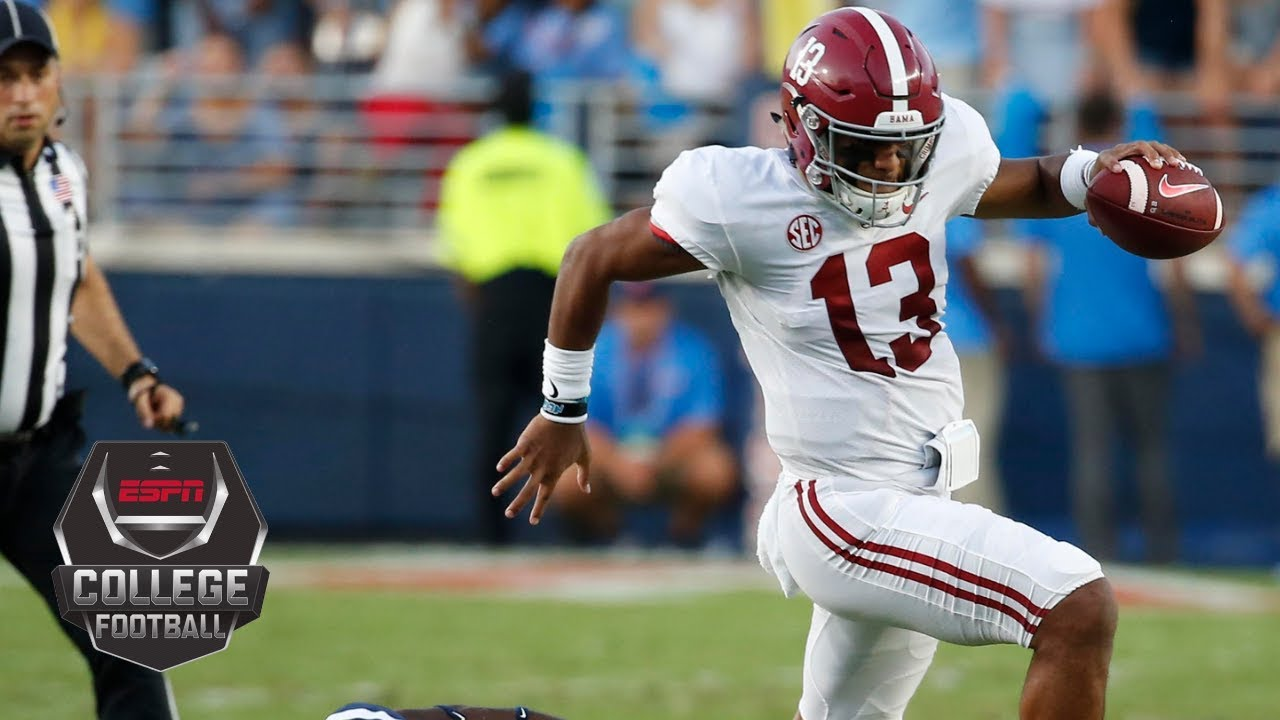 Alabama Destroys Ole Miss 62-7 in Oxford