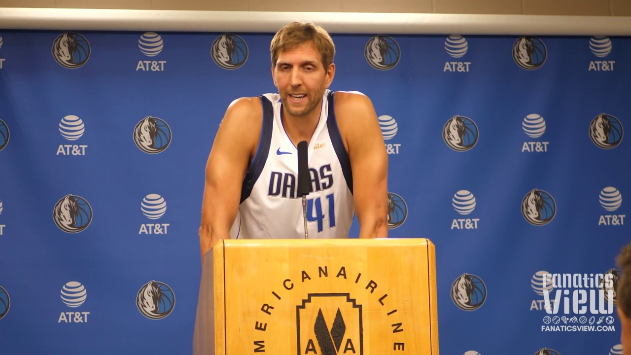 Dirk Nowitzki previews Dallas Mavericks 2018-2019 Season (Full Press Conference)