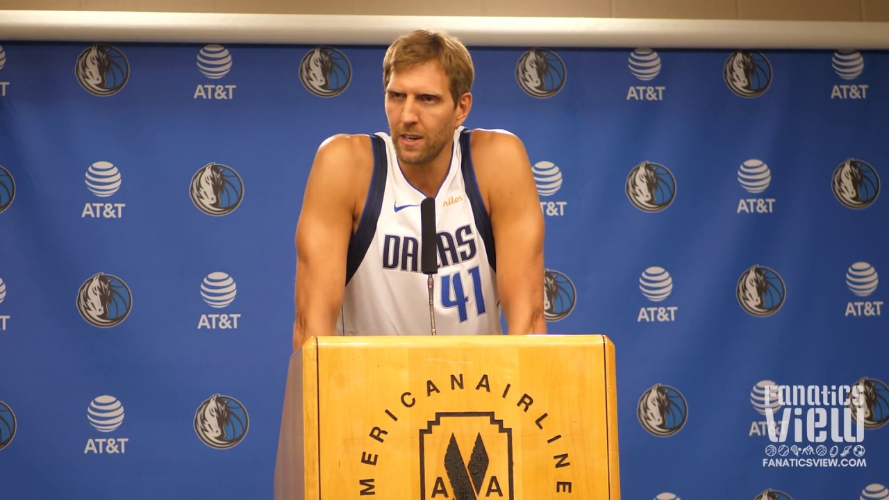 Dirk Nowitzki speaks on Transitioning to a Potential Bench Role