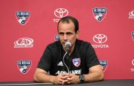 "FC Dallas head coach Oscar Pareja: ""Tough, tough game against a good rival"""