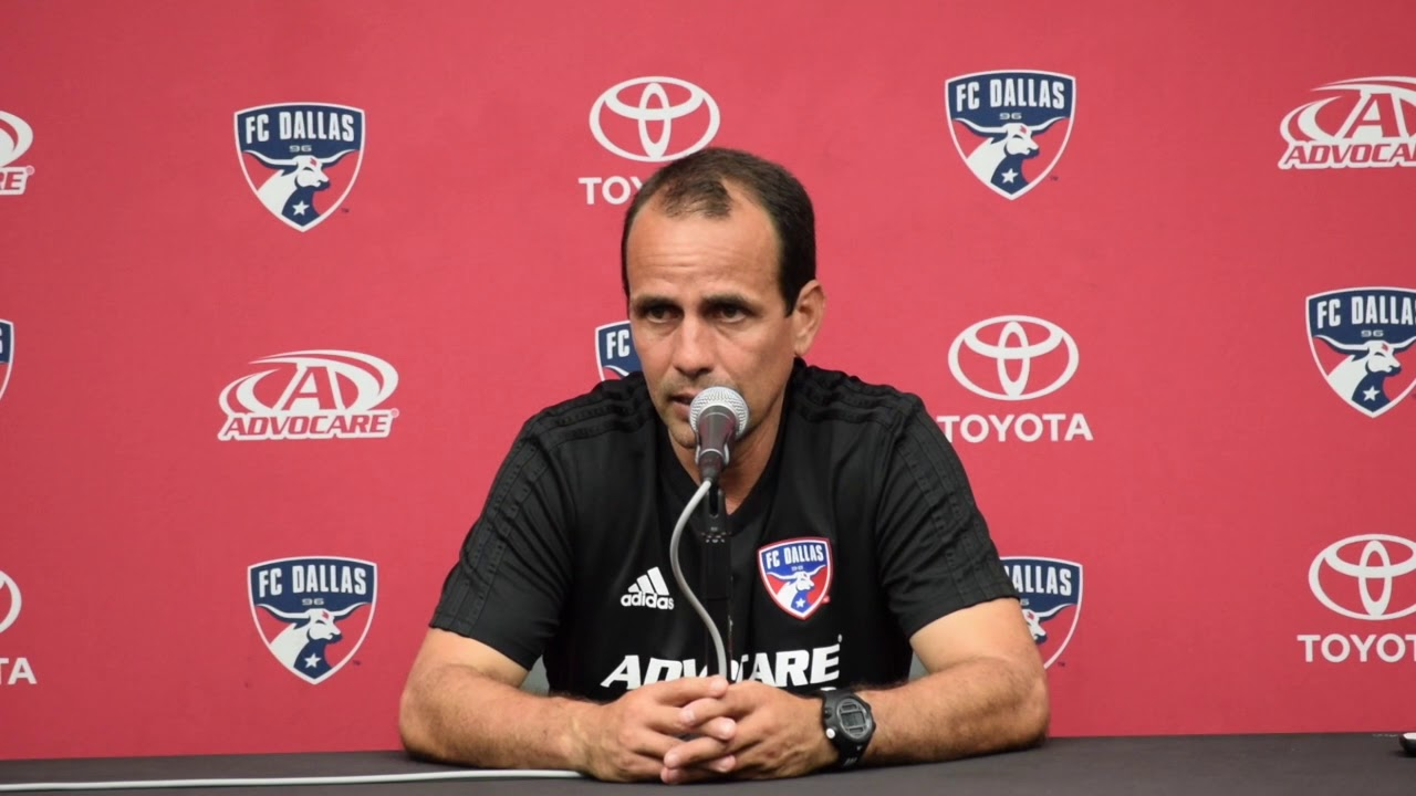 FC Dallas head coach Oscar Pareja:
